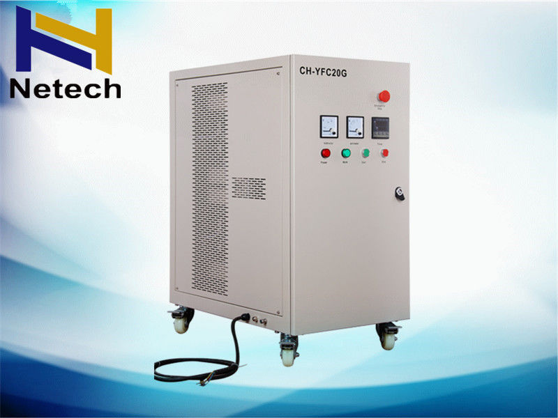 Oxygen Feed Swimming Pool Ozone Generator High Efficiency 1 Year Warranty